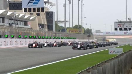 2020F2バーレーン決勝レース1結果