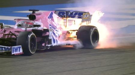 ペレス、表彰台目前でトラブルリタイア@F1バーレーンGP