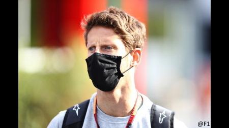 グロージャン「クビアトは見えなかった」@F1バーレーンGP