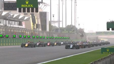 2020F2バーレーン決勝レース2結果
