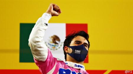レーシングポイントのペレスが初優勝@F1サクヒールGP