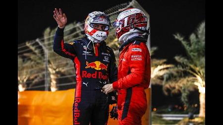 フェルスタッペン、ルクレールを批判@F1サクヒールGP