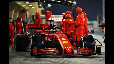 俺たちのフェラーリは健在@F1サクヒールGP