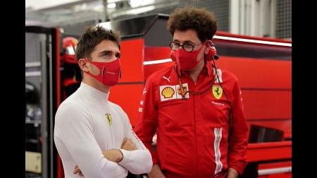 フェラーリ代表ビノット、ルクレールとシューマッハを重ねる