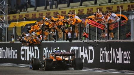 マクラーレン、コンストラクターズ3位を獲得