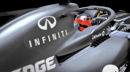 インフィニティ、F1撤退