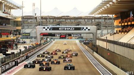 F1公式が各レースのスタート時刻を発表