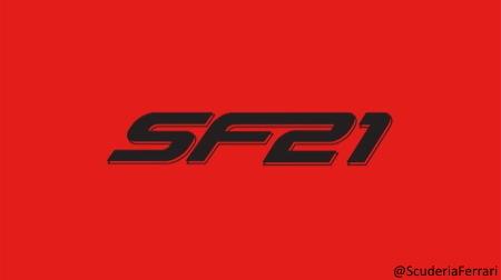 フェラーリSF21、エンジンをファイアアップ