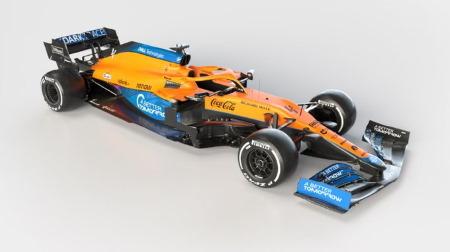 マクラーレン、2021年F1新車MCL35Mを公開