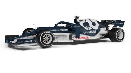 アルファタウリAT02公開@F1新車発表2021
