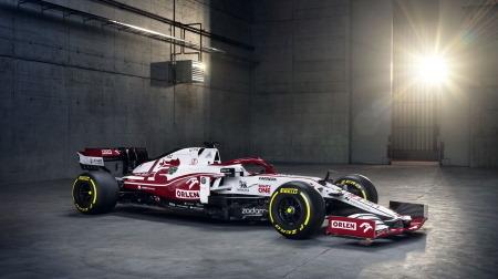 2021年F1新車発表、アルファロメオC41