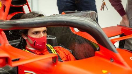 サインツ、フェラーリでチャンピオンを目標に設定