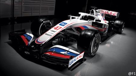 ハースVF-21公開@F1新車発表2021