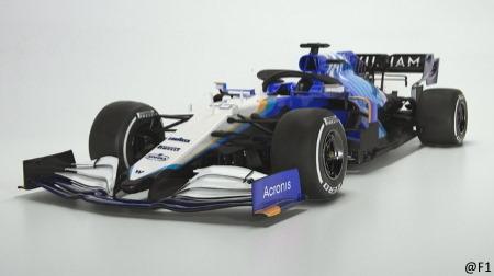 ウィリアムズFW43B発表@2021F1新車