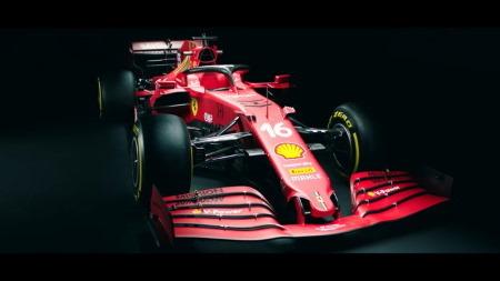 フェラーリ、新車SF21を公開