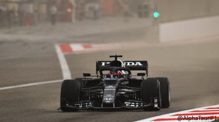 角田、F1プレシーズンテスト初日は燃料系トラブルに泣く