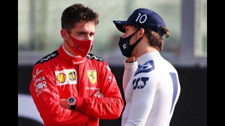 ガスリー、フェラーリの進化を確信