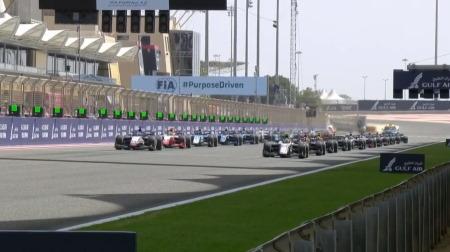 2021F2開幕戦バーレーン決勝レース1結果