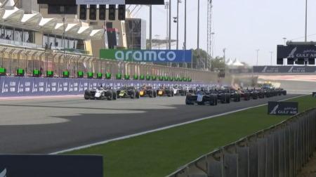 2021F2開幕戦バーレーン決勝レース3結果