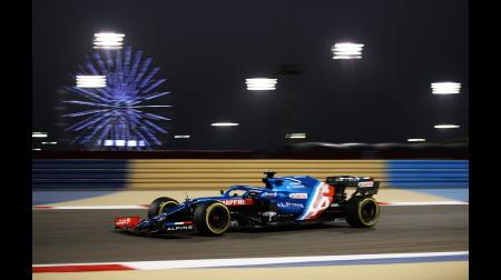 アルピーヌのアロンソコメント@F1バーレーンGP決勝