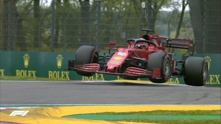 フェラーリのルクレール&サインツコメント@F1エミリア・ロマーニャGP予選