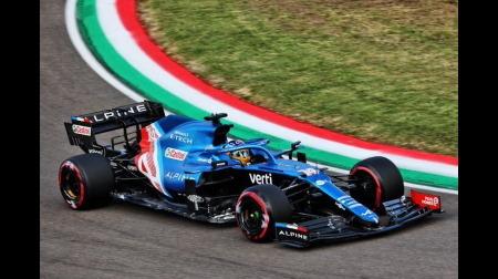 アルピーヌのアロンソコメント@F1エミリア・ロマーニャGP予選