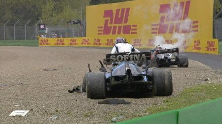 ボッタスとラッセルの接触の件@F1エミリア・ロマーニャGP