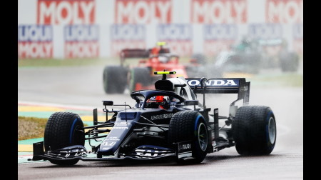 アルファタウリのガスリーコメント@F1エミリア・ロマーニャGP