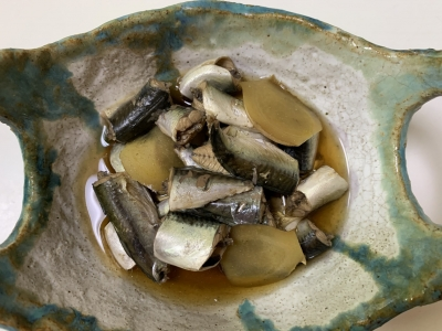 サバっ子の煮物