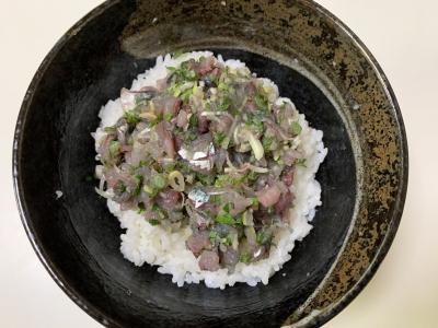 サバのタタキ丼