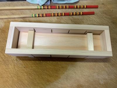 押し寿司を作る木枠