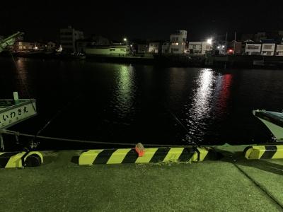 2020年12月6日 北条湾釣行 釣り座