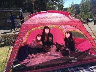 あいかわ公園テント