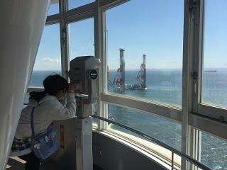 横浜シンボルタワー展望台