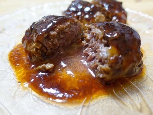 ふるさと納税 山梨県富士吉田市 熟成肉 山梨県産 セット 熟成肉『極』網脂ハンバーグ10個セット (13)