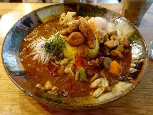 スープカレーなっぱ (4)