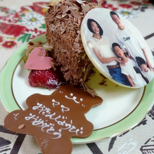 ステラリュヌ 誕生日ケーキ 202008 (18)2