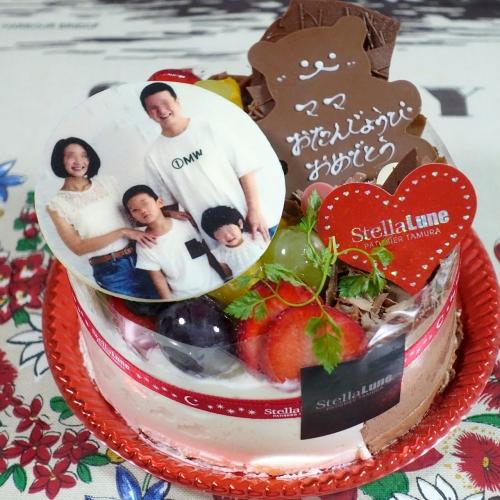 ステラリュヌ 誕生日ケーキ 202008 (4)2