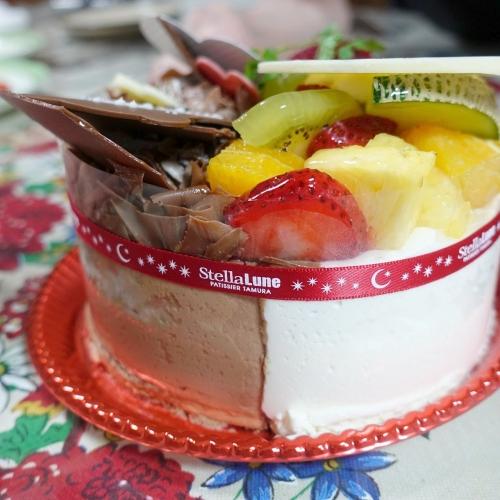 ステラリュヌ 誕生日ケーキ 202008 (9)