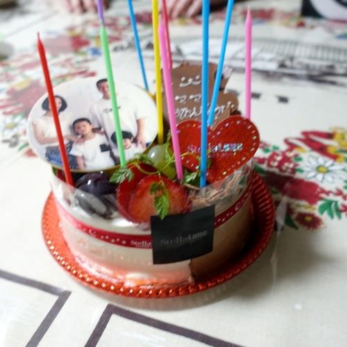 ステラリュヌ 誕生日ケーキ 202008 (10)