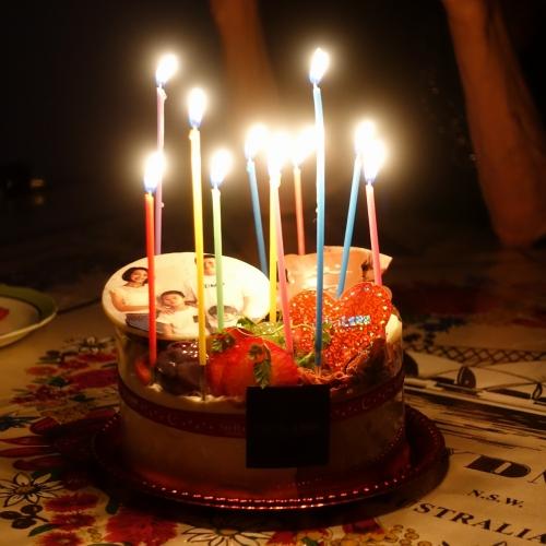 ステラリュヌ 誕生日ケーキ 202008 (12)