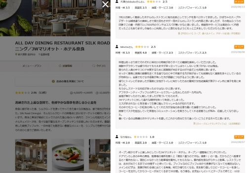 JWマリオット ホテル奈良 鉄板焼き AZEKURA 校倉 追加