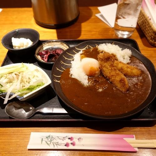 酒菜 せお 辛口カツカレー (3)