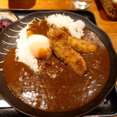 酒菜 せお 辛口カツカレー (7)