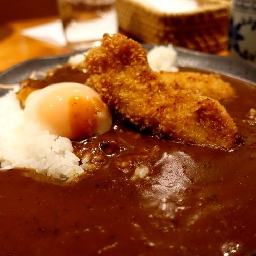 酒菜 せお 辛口カツカレー (11)