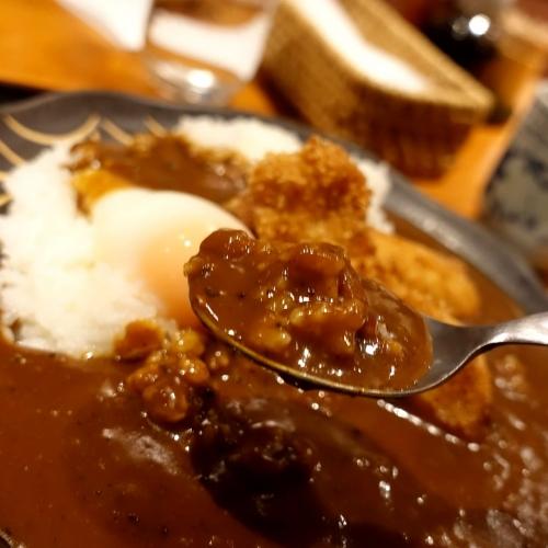 酒菜 せお 辛口カツカレー (12)