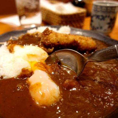 酒菜 せお 辛口カツカレー (15)