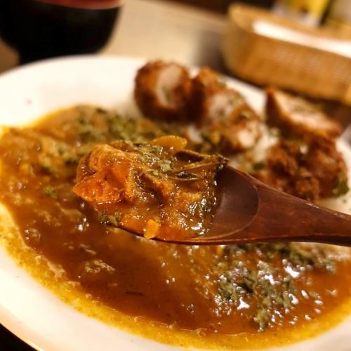 米麺亭 ランチ チキンカツカレー (1)