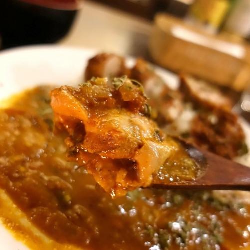 米麺亭 ランチ チキンカツカレー (2)