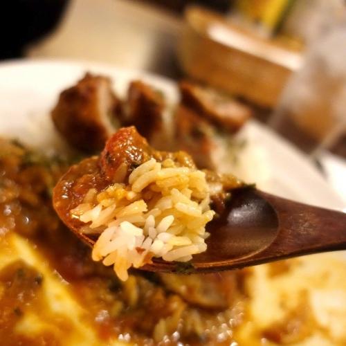 米麺亭 ランチ チキンカツカレー (3)